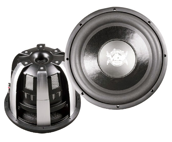 12''  2000 Watts Die-Cast Aluminum Dual 4 Ohm Channel Subwoofer