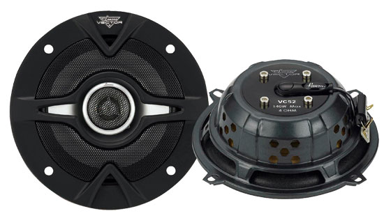Vector 5.25'' 140 Watts 2-Way Slim Speakers