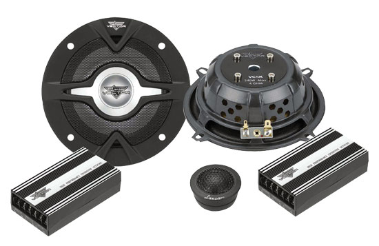 Vector 5.25'' 2-Way Slim Component Speaker System