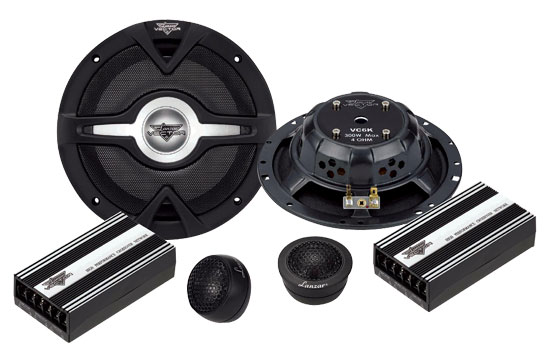 Vector 6.5'' 2-Way Slim Component Speaker System