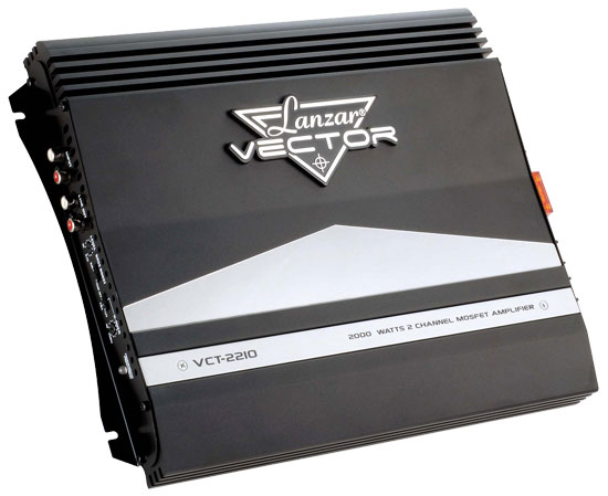 2000 WATTS 2 Channel High Power MOSFET Amplifier