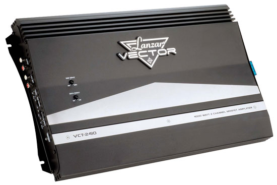 4000 Watt 2 Channel High Power MOSFET Amplifier