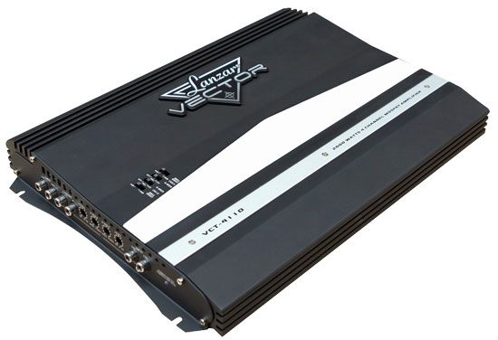 2000 WATTS 4 Channel High Power MOSFET Amplifier