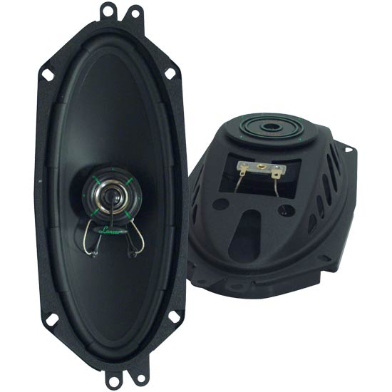 VX 4''x 10'' Two-Way Slim Mount Speaker System