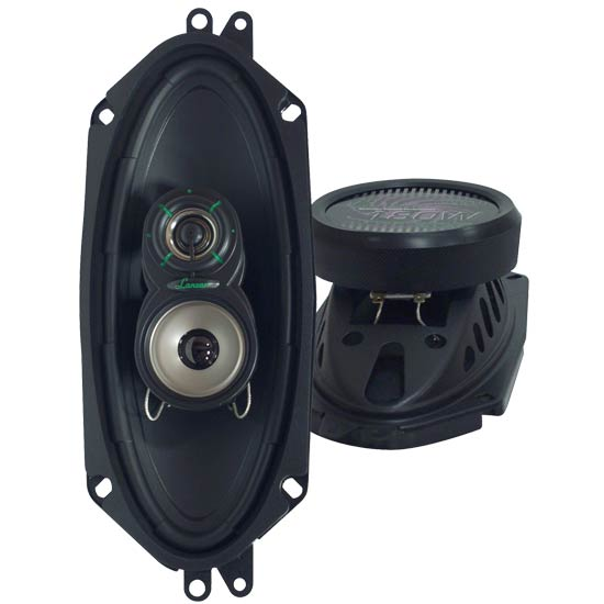 VX 4''x 10'' Three-Way Speakers