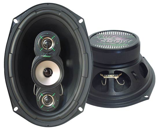VX 7''x 10'' Four-Way Speakers