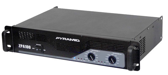1000 Watts Stereo Powered Amplifier