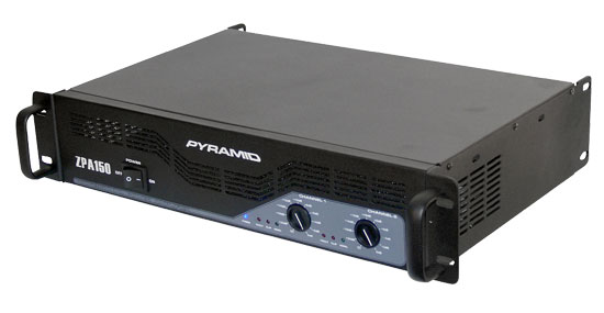 1500 Watts Stereo Powered Amplifier